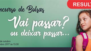 RESULTADO VI CONCURSO DE BOLSAS