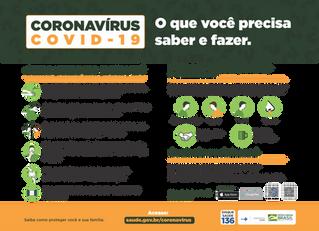 Informações sobre SARS-CoC-2 / COVID-19