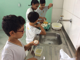 Culinária e medidas - Turno Integral