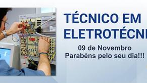 09 de Novembro - Dia do Técnico em Eletrotécnica