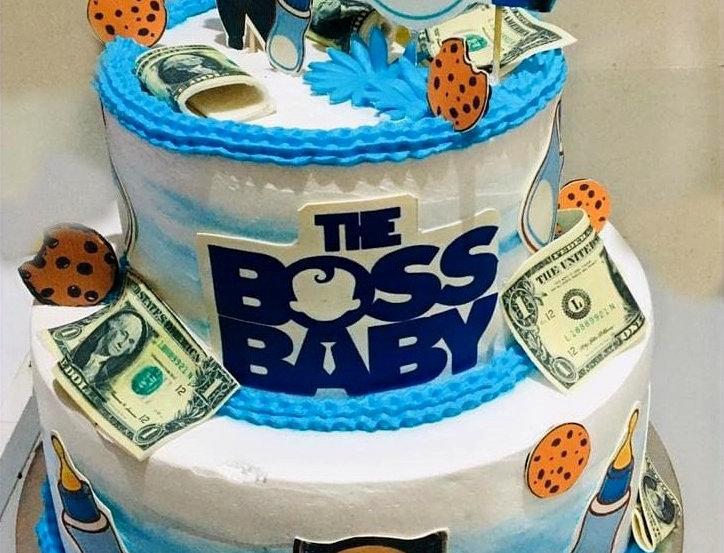 Bossy Theme Cake - Double Twist