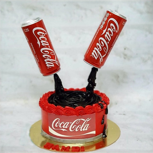 Soft Drink Theme Cake