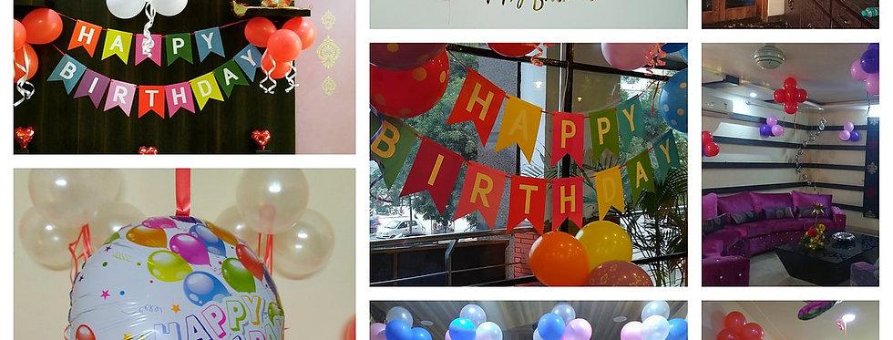 Metallic Balloons Decoration