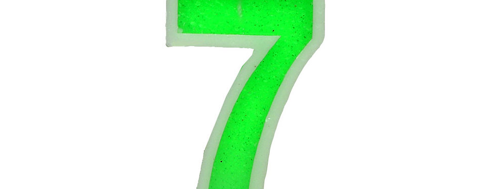 Number Candle Seven