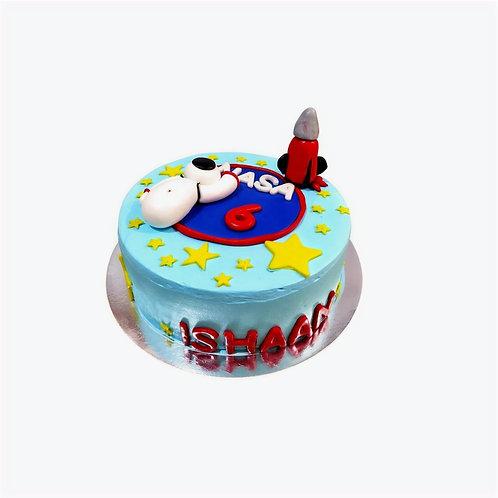 Nasa Theme Cake