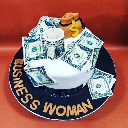 Bossy Theme Cake