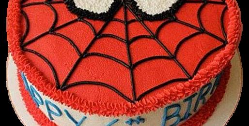 Spider Man Theme Cake