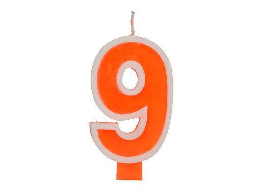Number Candle Nine