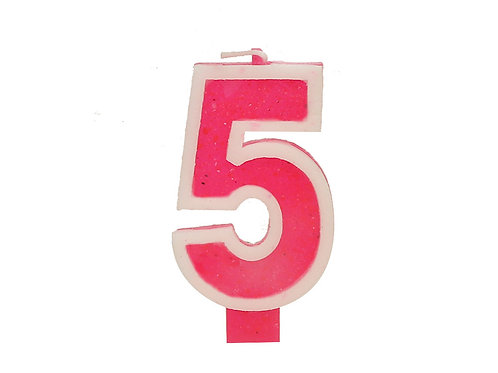 Number Candle Five