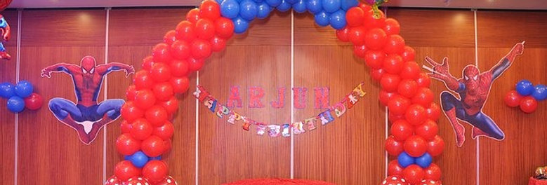 Spider Man Theme Decoration