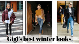 Gigi's best winter looks