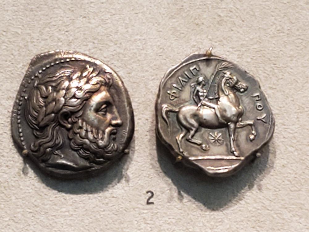 마케도니아 동전 (필립2세) Berlin Altes Museum