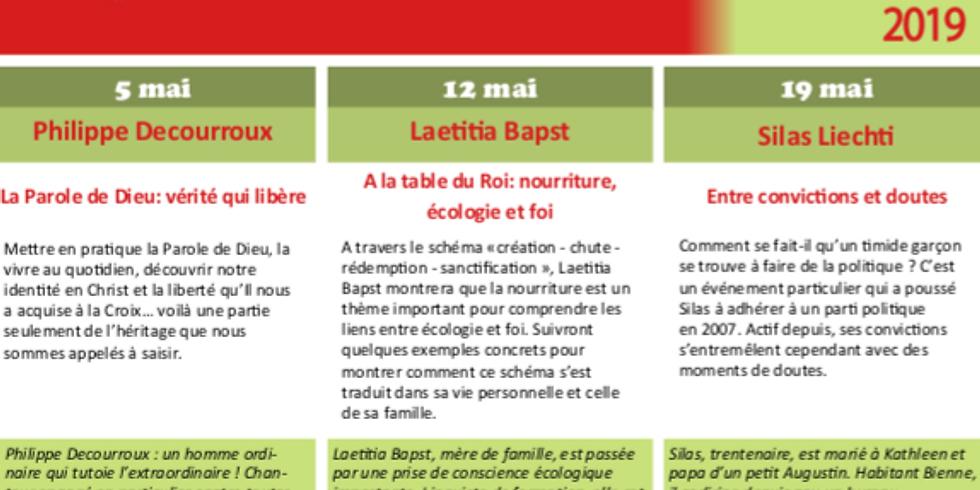 A la table du Roi: Nourriture, écologie et foi.