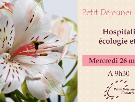 Hospitalité, écologie et foi
