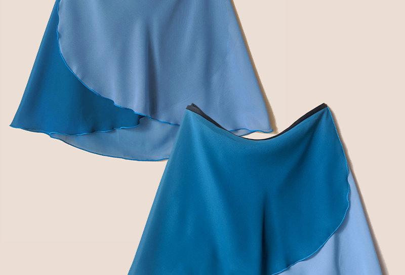 Flatter Wrap Skirt  (Ombre Mallard)