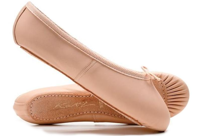Katz Full Sole Leather Ballet Shoes