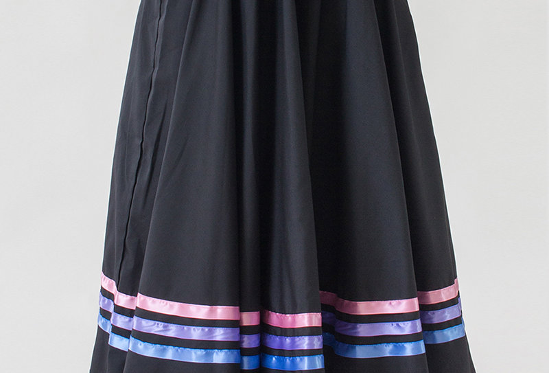 Character Skirt - Trio Colour Ribbons