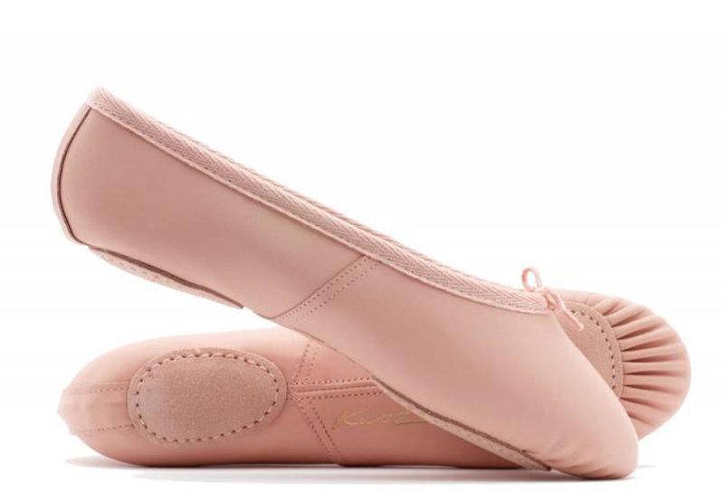 Katz Split Sole Leather Ballet shoes