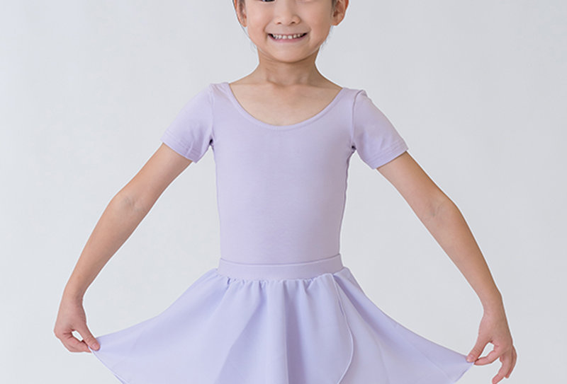 Crossover Skirt - Lilac