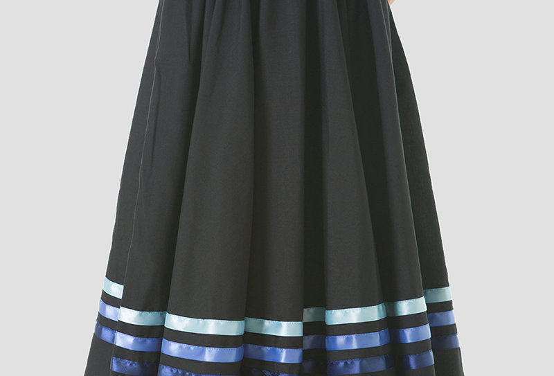 Character Skirt - Blue Ribbons