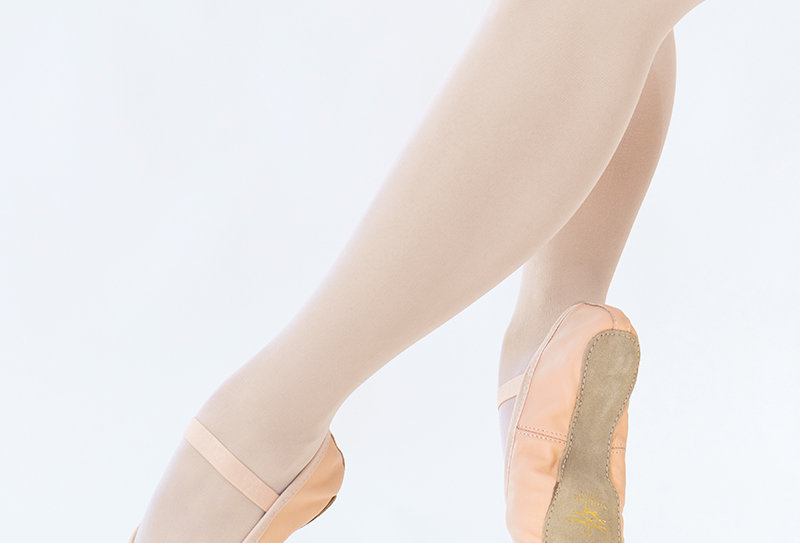 Studio - Full-Sole Leather Ballet Shoes