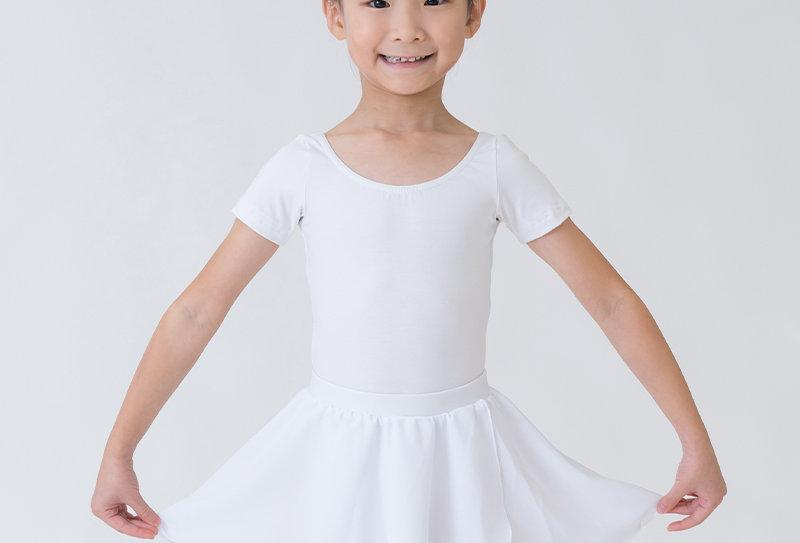 Crossover Skirt - White