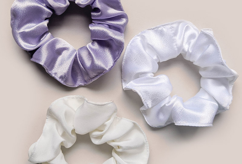 PEACE - Set of 3 Scrunchies