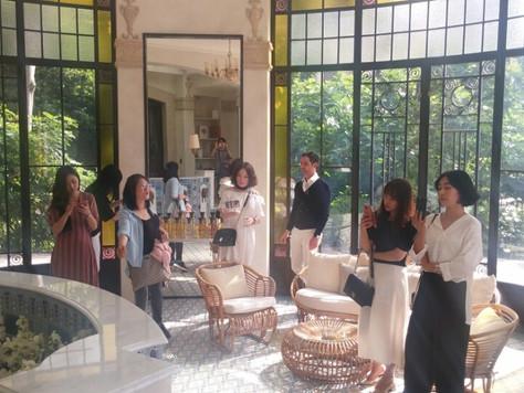 incentive tour - Dior @Europe