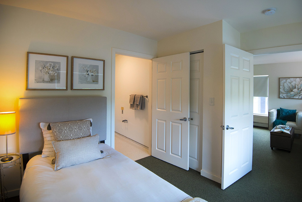 Typical One Bedroom Apartment at Ridge Oak II bedroom