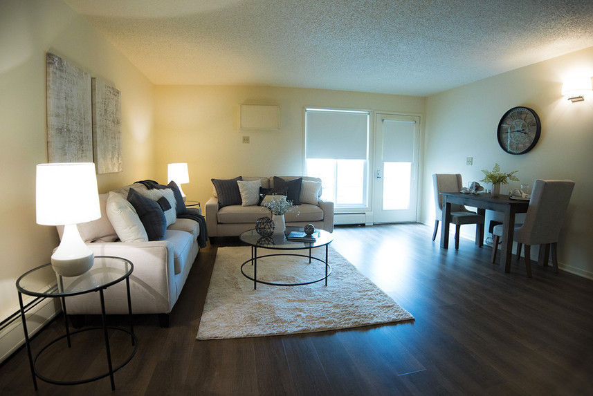 Typical One Bedroom Apartment at Ridge Oak overall view