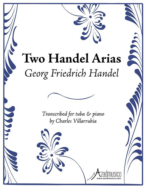 Handel: Two Arias (Sheetmusic)