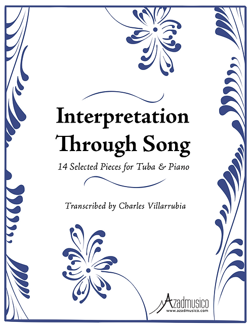 Interpretation Through Song (Sheetmusic & CD)