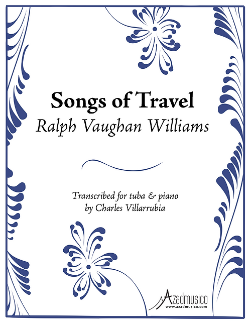 Vaughan Williams: Songs of Travel (Sheetmusic)