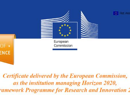EU Seal of Excellence award for SyncShield