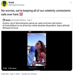 Shaq's Tweet