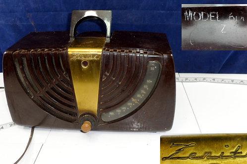 Zenith Radio Model 60015 Works