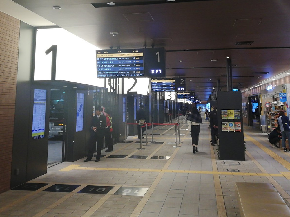 Tenjin Bus terminal