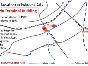 [360 Video] Multi-layered Transportation Hub in Downtown Fukuoka