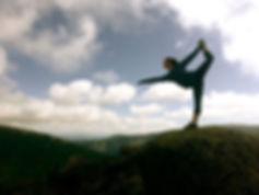 Dancer on a Mountain