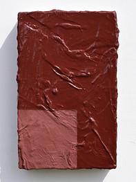 Jewel of Snæfellsjökull 2018 Mineral pigment, tempera, Strasbourg turpentine, gesso, & linen on panel 38.3 x 24.3 x 5.8 cm