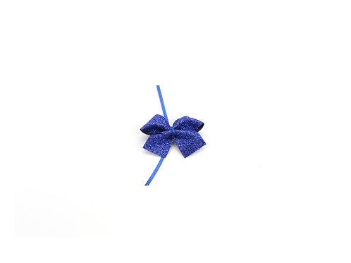 Schuh BASIC Glitzer | royal blau