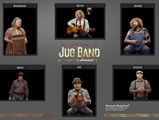National Blues Museum Work - Jug Band Jammin!