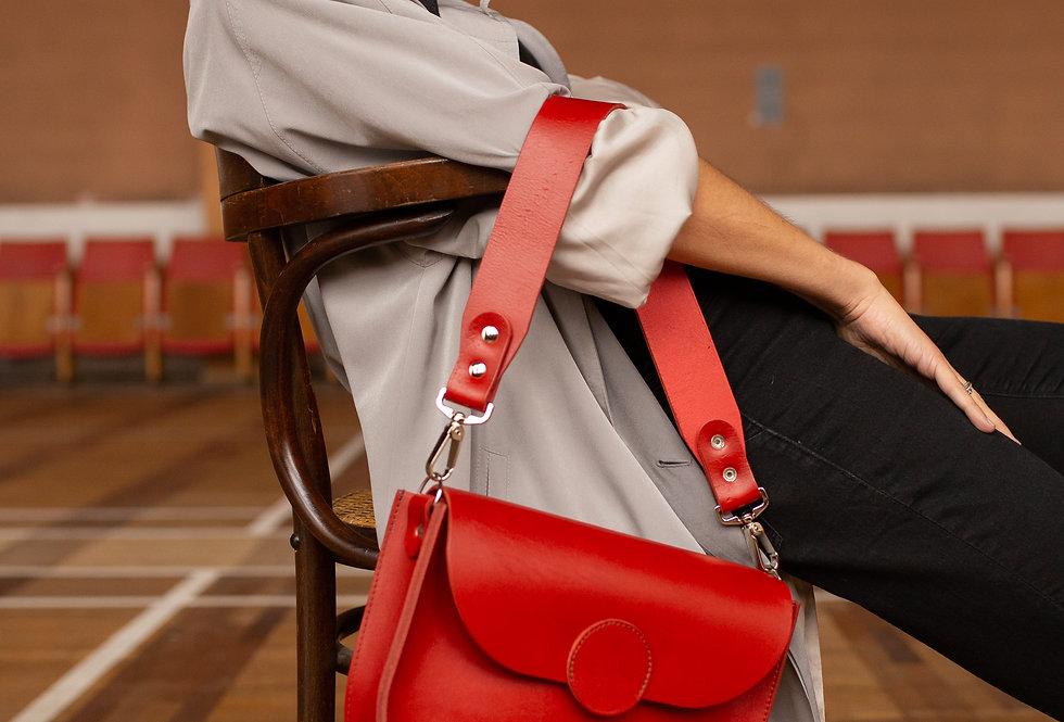 FIONA HANDBAG IN RED
