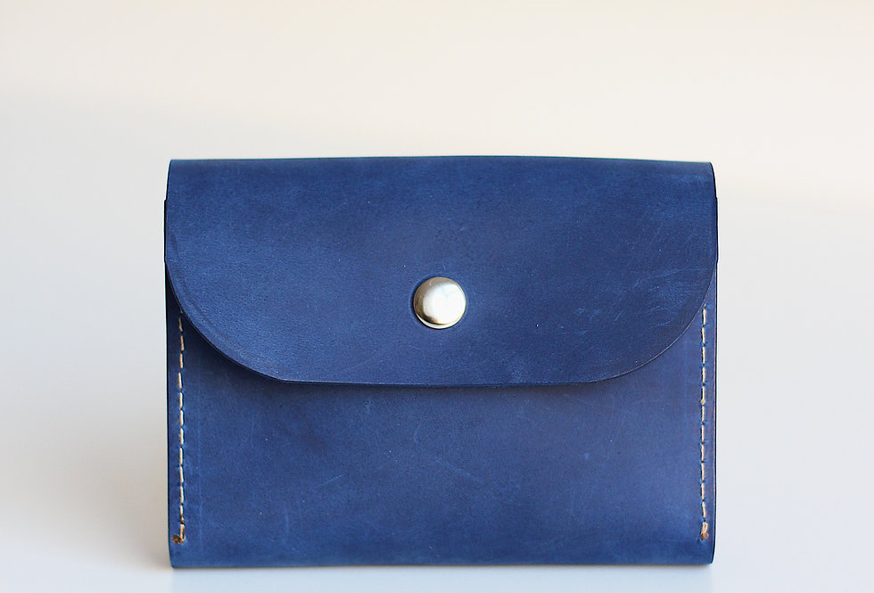 FRIDAY WALLET IN BLUE