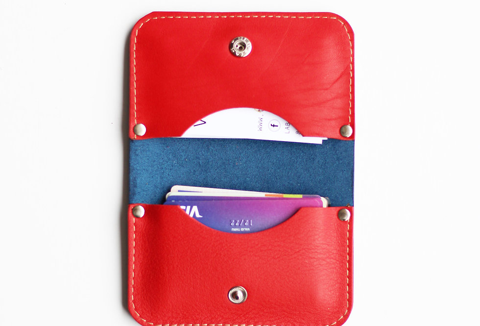 SUNDWAY WALLET IN BLUE AND RED