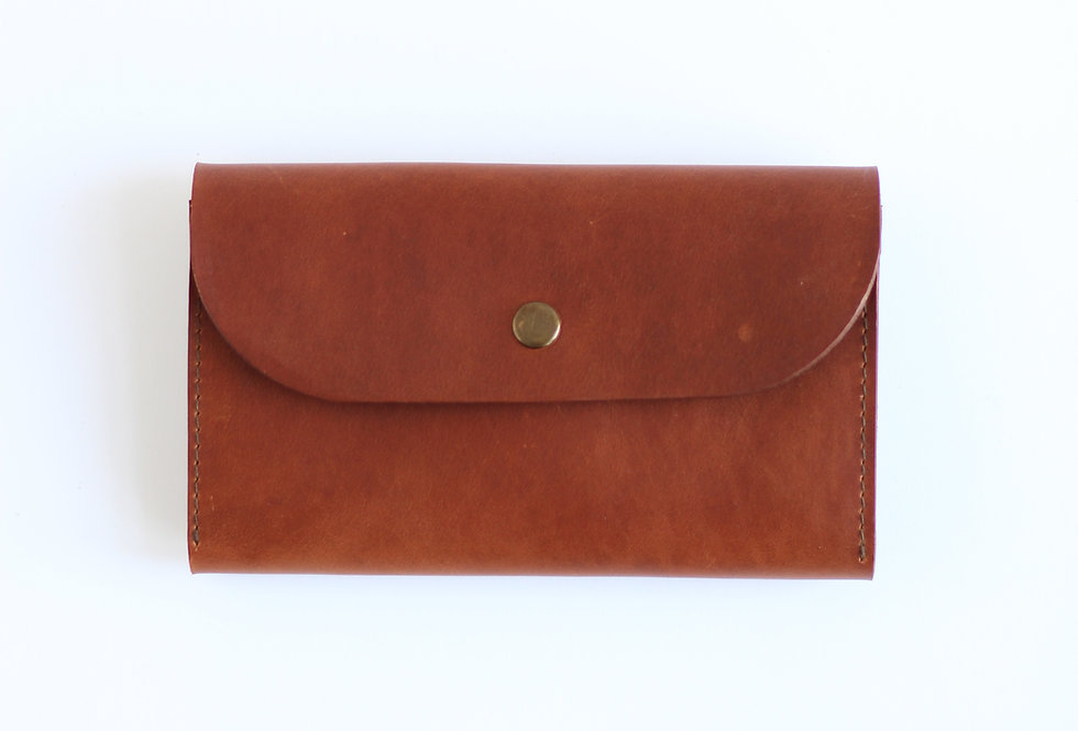 TUESDAY WALLET IN GINGER