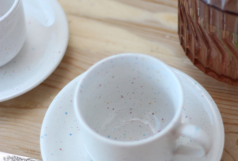 CERAMIC COFFEE SET OF 3