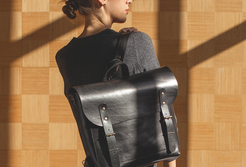 BENJAMIN BACKPACK IN BLACK