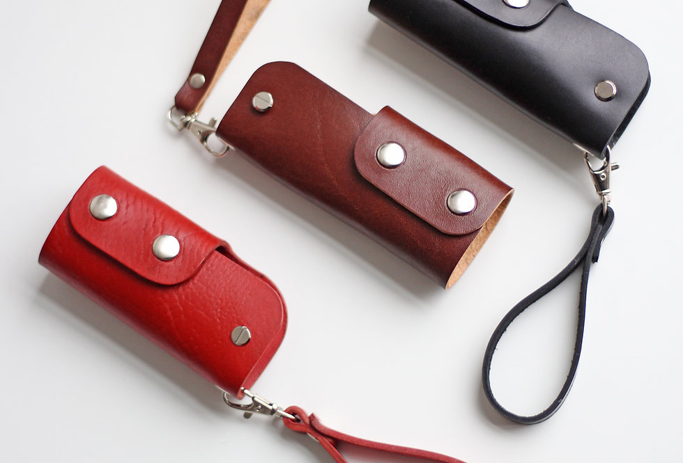 ASH KEY CASE IN RED