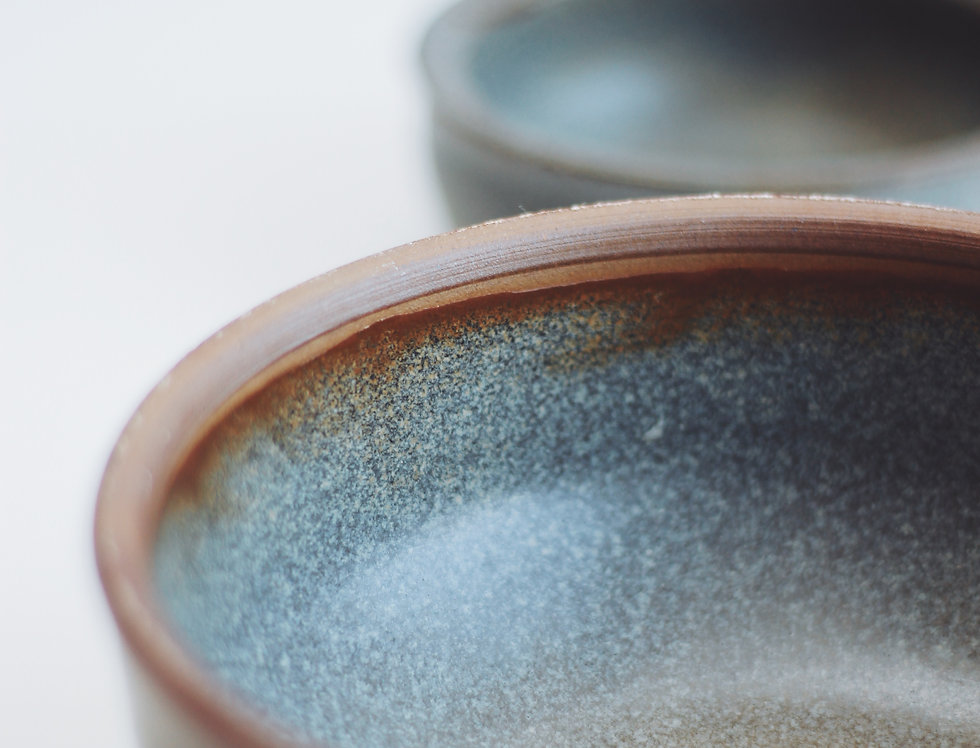 A set of vintage ceramic bowls